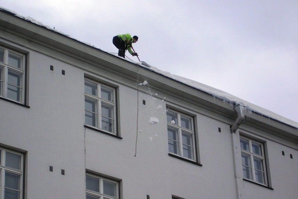 Инструкции по охране труда при очистке крыш от снега